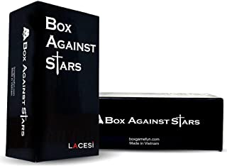 Box Against Stars With 300 Cards – Funny Game