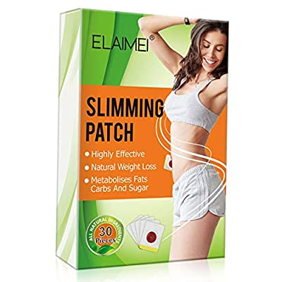30Pcs Slimming Patch, Weight Loss Sticker, Belly Fat Burner, Tighten Slimming Wonder Patch for Beer Belly, Buckets Waist, Waist Abdominal Fat, Quick Slimming and Shaping