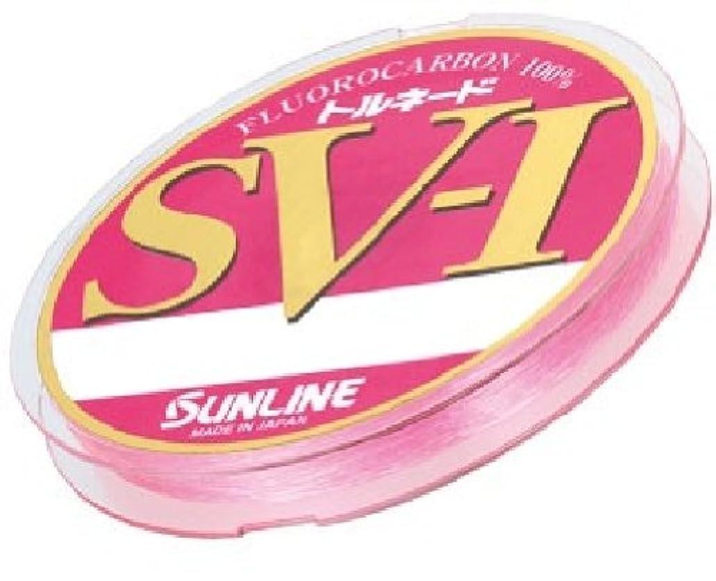 ポルノパラシュート取り出すサンライン(SUNLINE) ハリス トルネード SV1 HG フロロカーボン 100m 3号 マジカルピンク