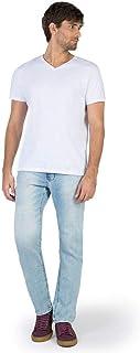 Calça Jeans Reta Vintage Flex Destroyer