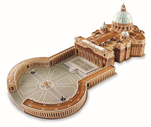 Puzzle 3D Basílica de S. Pedro 144 piezas