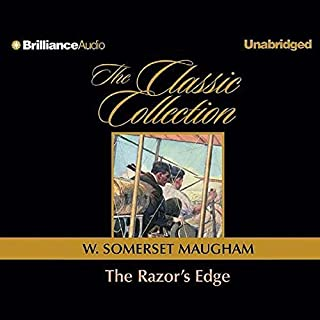 The Razor's Edge audiobook cover art