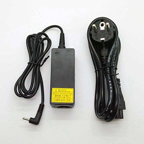 45w AC Adapter Adaptador Cargador Compatible para Equipos ASUS 45w ZenBook UX31E-RY027V 19v 2,37a 3.0mm * 1.0mm // Protección contra Cortocircuitos, sobre-Corriente y sobrecalentamiento