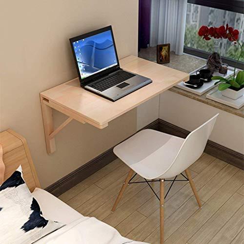 Mesa plegable ESCRITORIO Simple madera maciza montada en la pared plegable mesa de comedor colgante de la mesa de escritorio de la computadora de la mesa de la mesa de la mesa de la mesa de la mesa de