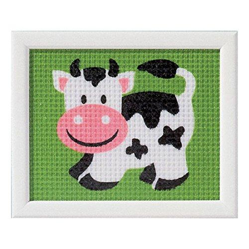 Vervaco - Kit para Tapiz, diseño de Vaca, Multicolor