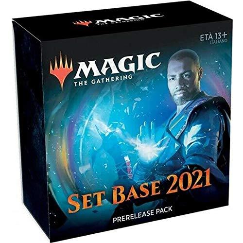 Fantàsia Wizards Magic The Gathering Set Base 2021 M21 Prerelease Pack in Italiano, Multicolore