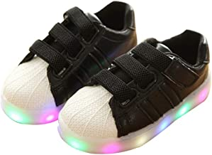 zaragfushfd Led Shoes Led Light up Shoes for Toddles Boys Girls and Kids Colors Light