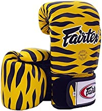 Fairtex Muay Thai Boxing Gloves BGV1 Limited Edition - Wild Amimal Collection Tiger Leopard Zebra Dalmatian Size : 10 12 14 16 oz Training & Sparring Gloves for Kick Boxing MMA K1
