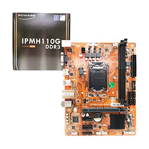 Placa Mae 1151 Pcware IPMH110G DDR3 hdmi