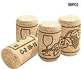 INHEMI 50 Stück Weinkorken zum Basteln,...