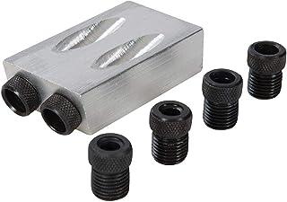 Silverline 868549 - Plantilla, guía de taladro y corte, 6, 8 y 10 mm