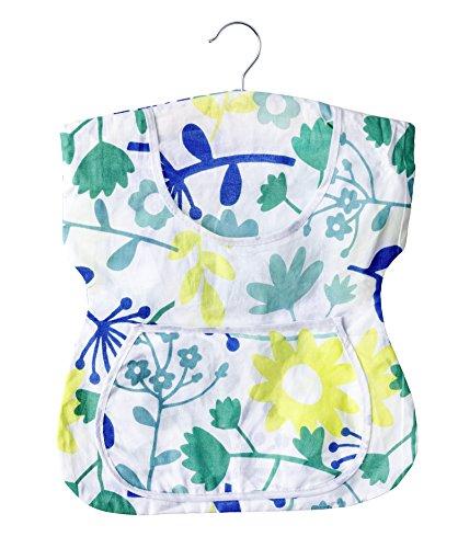 WENKO Wäscheklammer-Kleid, Baumwolle, 33 x 45 x 1 cm, Mehrfarbig