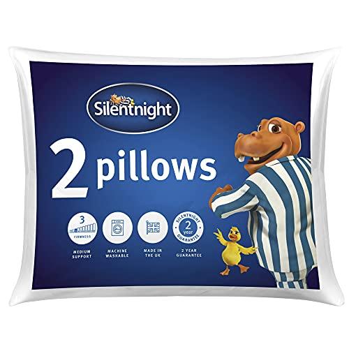 Silentnight Essentials Collection Pillow, White
