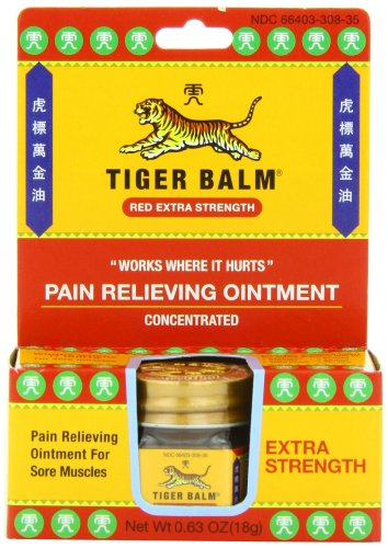 Tiger Balm Pain Relieving Ointment Extra Strength 063 Ounce