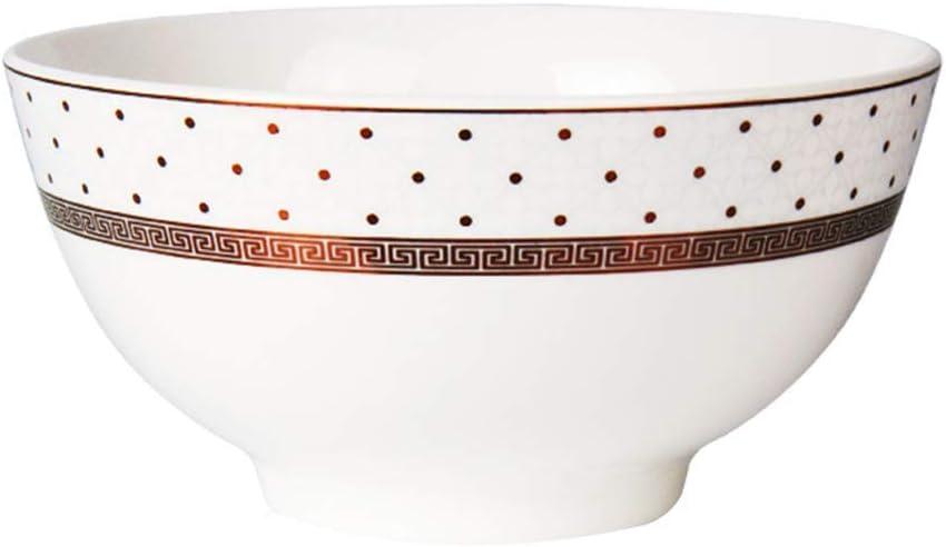 ZXY-NAN Chinese Style Creative Super intense SALE Ceramics Noodles Fruit Price reduction Retro Bowl