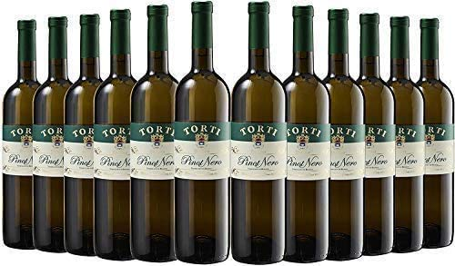 Photo of Pinot Nero Vinified in White DOC OP – Body of a Pinot Nero Red in a White Wine – Torti Wine Award Winning Estate Case of 12