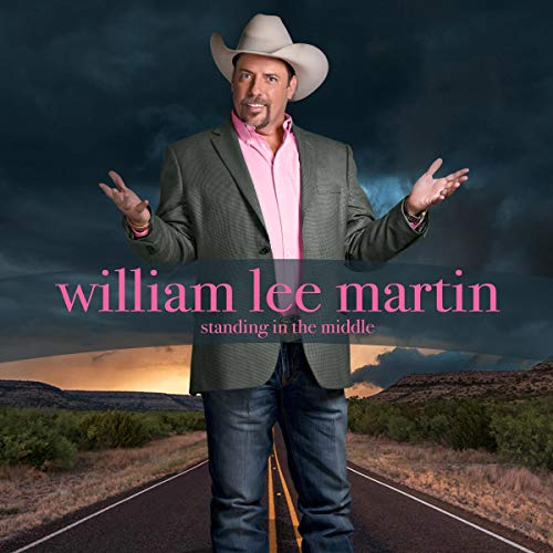 William Lee Martin: Standing in the Middle cover art