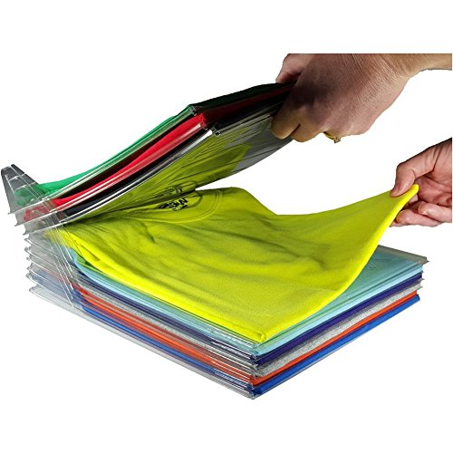 zooarts 10Packungen Kleidung Organizer System Schrank Schublade Büro-Schreibtisch Datei Schrank Organisation