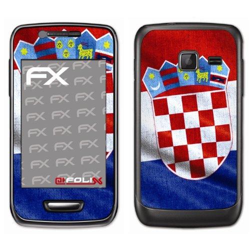 Displayschutz@FoliX atFoliX Calcio Em 2012Pellicola Design per Samsung Wave Y (S5380)
