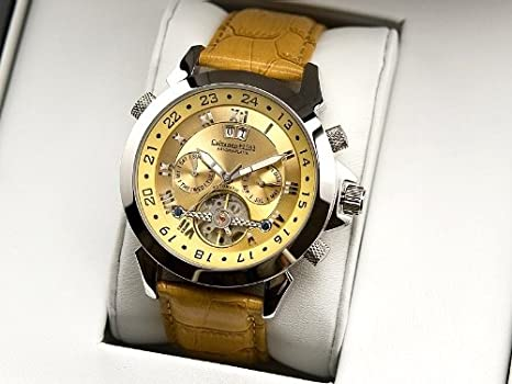 orologio calvaneo 1583 astonia platin beige automatico cm-asp-09 uomo :  amazon.it: moda  amazon.it