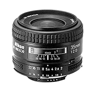 Nikon AF Nikkor 35 mm/2,0 D Objektiv (52mm Filtergewinde) (B00005LE72) | Amazon price tracker / tracking, Amazon price history charts, Amazon price watches, Amazon price drop alerts