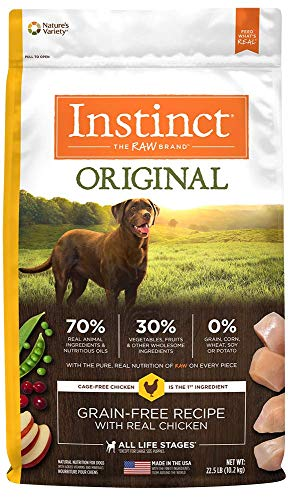 Instinct Original Grain Free Recipe Natural Dry Dog Food by Nature's Variety