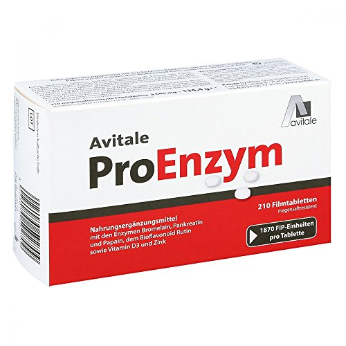 PROENZYM magensaftresistente Tabletten 210 St