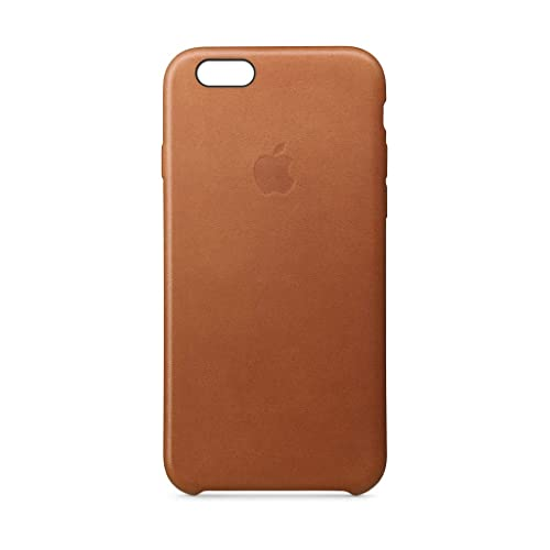 032c4e35de8 Apple Leather Case (for iPhone 6s) - Saddle Brown