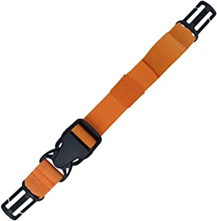 Amlrt Backpack Chest Strap- Nylon -Suitable for Webbing on The Backpack up to1in (Orange)