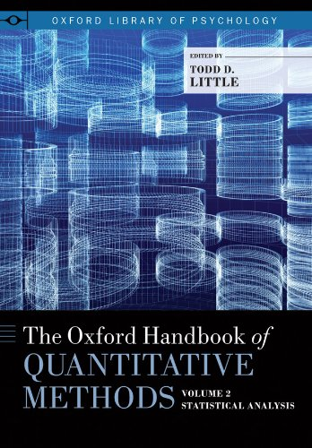 The Oxford Handbook of Quantitative Methods, Vol. 2: Statistical Analysis (Oxford Library of Psychology)