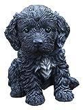 Hi-Line Gift Ltd Sitting Cockapoo Puppy Statue