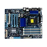 WWWFZS Placa Base De La Computadora Fit For Gigabyte GA-X58A-UD3R 1366 Placa Base, Placa Base X58 L5639 L5520 Computer Motherboard