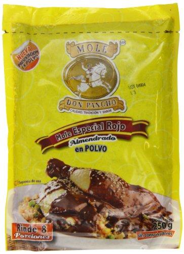 Mole Rojo Especial Almendrado en Polvo 500 g, Don Pancho