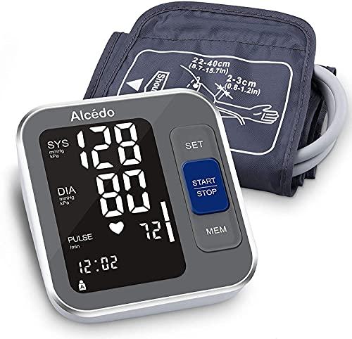 Alcedo Blood Pressure Monitor Upper Arm, Automatic Digital BP Machine with...