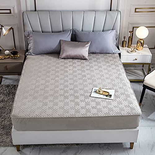 BOLO Sábanas ajustables extra profundas, sábanas de la más alta calidad, 150 x 190 cm + 35 cm