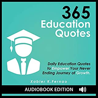 365 Education Quotes audiobook cover art