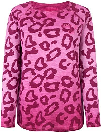 Lieblingsstück Langarm Sweatshirt CATHRINAL Rundhals Muster rosa Größe L