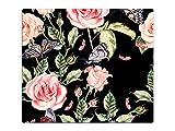 Herdabdeckplatte Schneidebrett Spritzschutz aus Glas HA386469985 Blumen & Blüten Variante 1x Scheibe (1 Panel) für Küche, Grill-Profis und Dinner