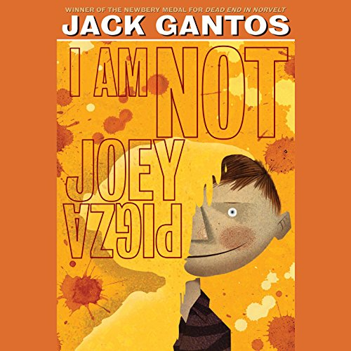 I Am Not Joey Pigza audiobook cover art