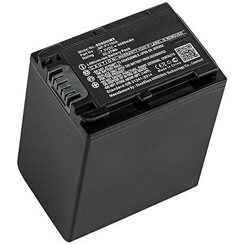 subtel® Batteria Compatibile con Sony FDR-AX53 FDR-AX700 FDR-AX100 HXR-NX80 HDR-CX625 -CX450 -CX900 -CX680 -CX675 HDR-PJ675 NEX-VG30 -VG10 -VG20 DCR-SR68 NP-FV100A NP-FV70A 3050mAh accu Ricambio