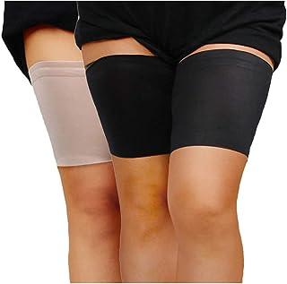 1 Par Mujer De Encaje del Muslo Bandas Anti Frotamiento El/ástico Anti-Rozaduras del Muslo Que Adelgaza La Venda del Muslo Calcetines para Damas