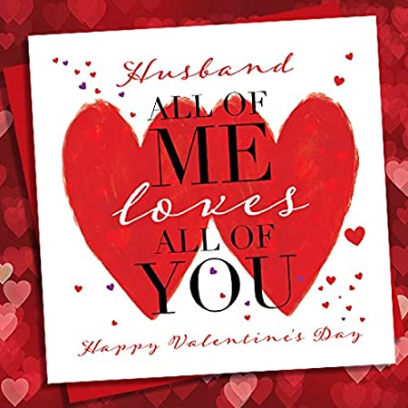 loves all of you Greeting Card  Valentine\u2019s Day Card  Anniversary Card All of me