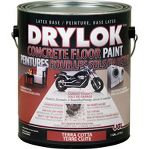 Ugl 22913 1 Gallon Terra Cotta Drylok Latex Concrete Floor Paint