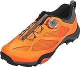 SHIMANO shmt7pc430sr00–Chaussures Cyclisme, 43, Orange, Homme