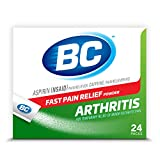 BC Powder   Fast Pain Relief   Arthritis   Aspirin (NSAID) & Caffeine   24 Count