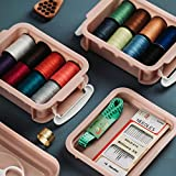 CJMING Kit De Costura, Set De Costura Accesorios De Costura Premium Con Estuche De Transporte, Agujas Para Herramientas De Coser, Hilo, Agujas Y Accesorios Herramientas Para El Hogar