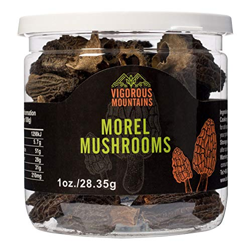 Wild Dried Morel Mushrooms