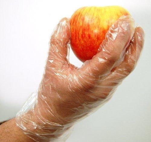 ROYALS Transparent Plastic Gloves (300pcs)