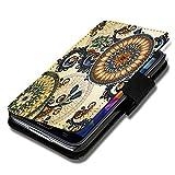 wicostar Book Style Flip Handy Tasche Hülle Schutz Hülle Schale Motiv Foto Etui für Wiko Ridge Fab 4G - Flip A51 Design7