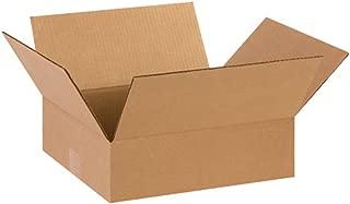 Aviditi 14124 Flat Corrugated Box, 14